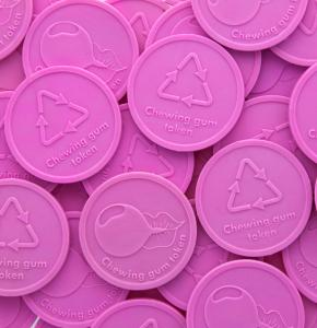 Chewing Gum Drink Tokens