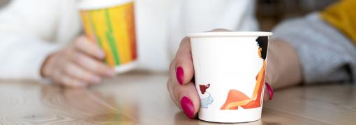 Paper Cups with full colour print